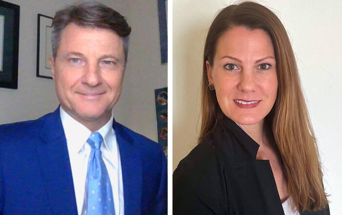 Michael Nornberg and Melissa Whorton
